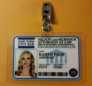 Daredevil-ID-Badge-Karen-Page-prop-cosplay-costume