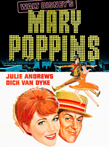 1964 Mary Poppins Movie Poster