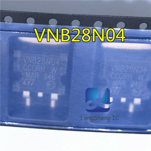 """10PCS VNB28N04 Encapsulation:TO-263,""""OMNIFET"""" FULLY AUTOPROTECTED POWER new"""