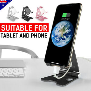 Symbol Of The Brand Universal Foldable Portable Desk Stand Mobile Phone Tablet Holder Adjustable Au Mobile Phone Holders & Stands Mobile Phone Accessories