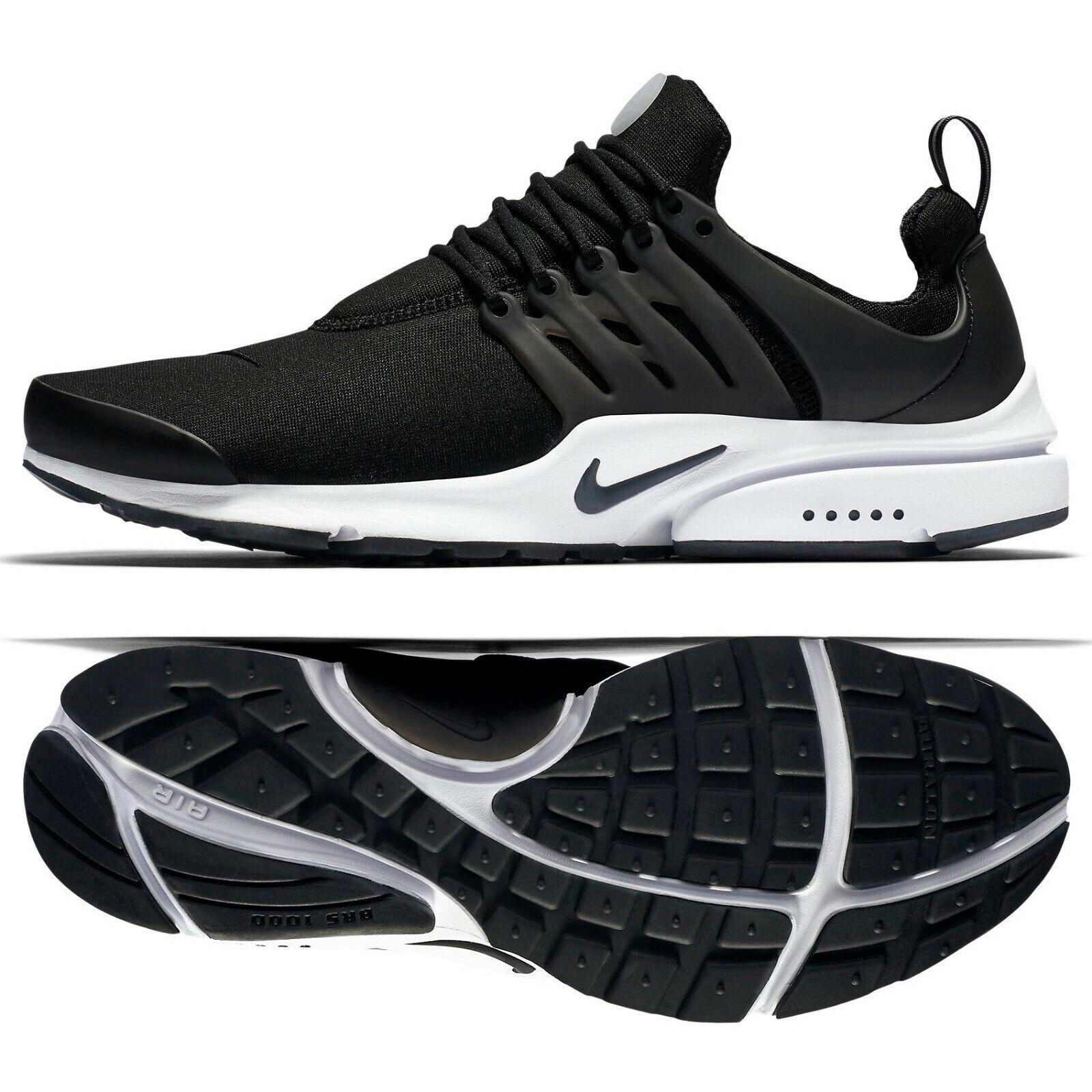 Nike Air Presto Essential 848187-009 Black White Black Men's shoes Sz 13