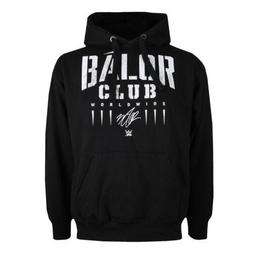WWE Mens Wrestling Pull Over Hoody Sizes S-2XL Balor Club Black