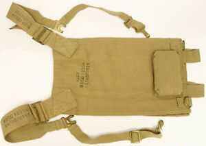 WWII 1955 British Military 1937 Pattern Webbing Carrier Vickers 303 MG MECO Army