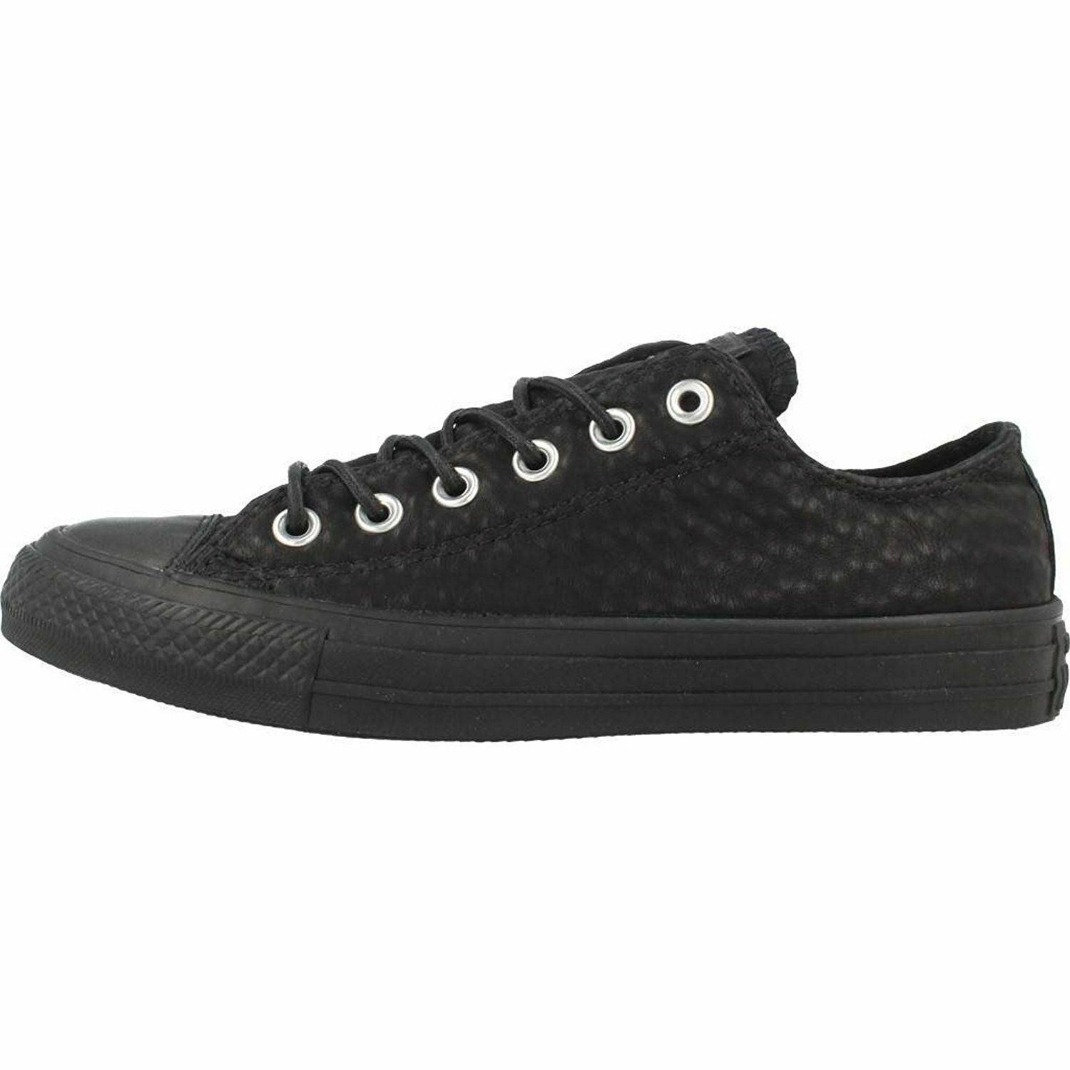 Women Athletic Sneakers Sneakers Sneakers Converse Chuck Taylor Craft Leather Casual Black 153565C 45198b