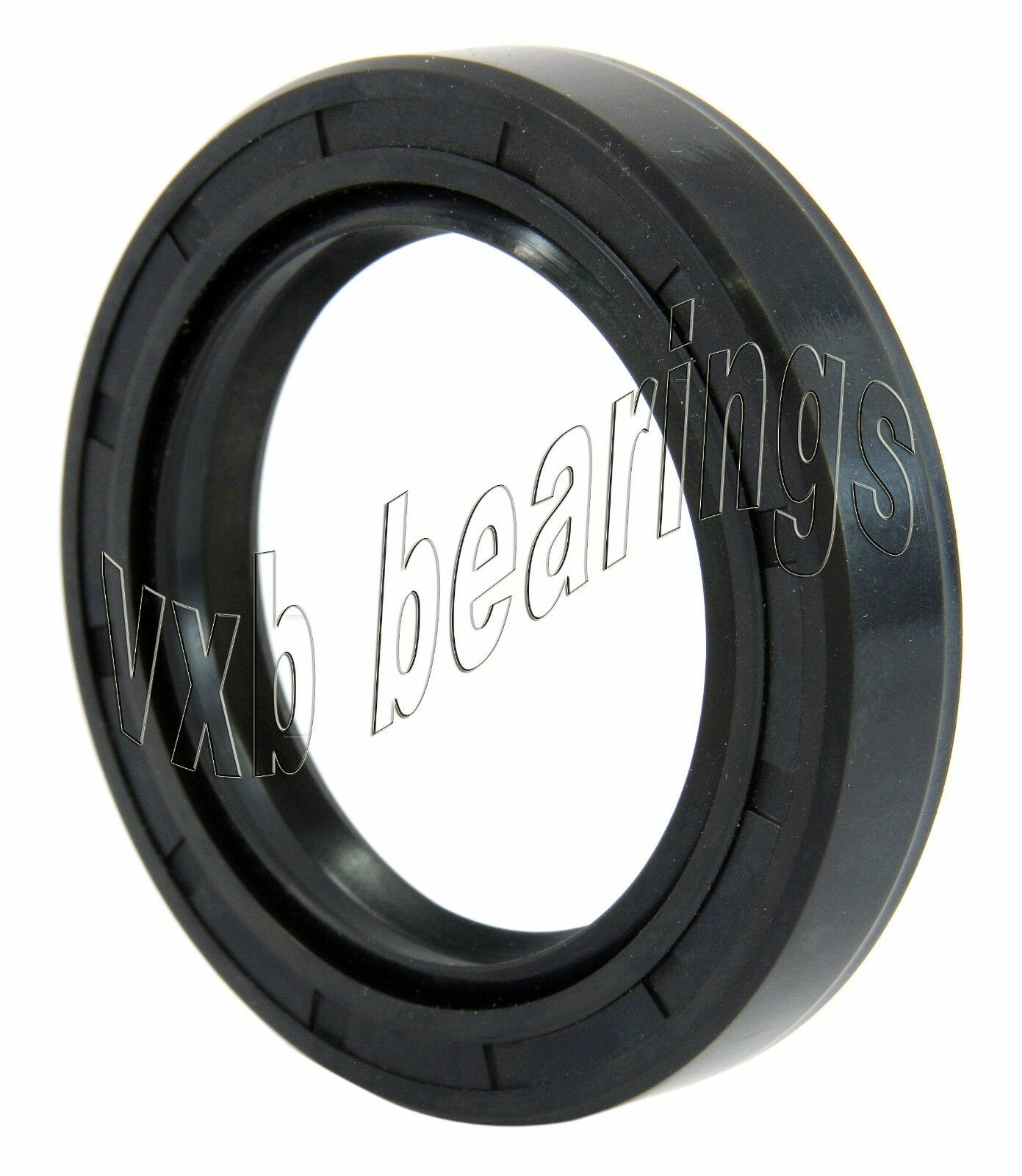 "Oil and Grease Seal 1.378/""x 1.969/""x 0.433/"" Inch Rubber Covered Double Lip w//Gart"