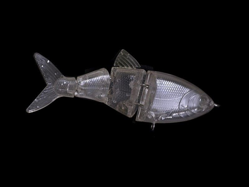 4 Jointed (4 sections) UNPAINTED  Baby Shad SwimBaits 4.25  - .9 oz. Lure Blanks  all in high quality and low price