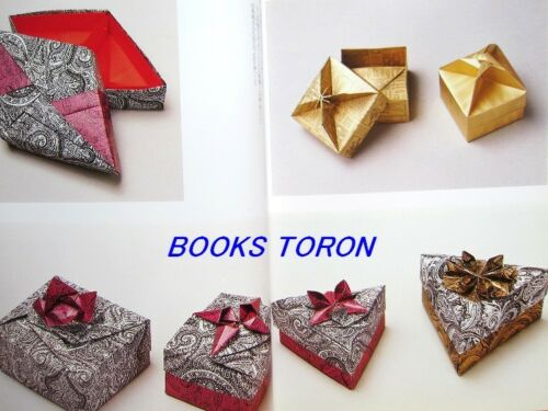 Various Boxes with A Sheet of Paper //Japanese Origami Paper Craft Book