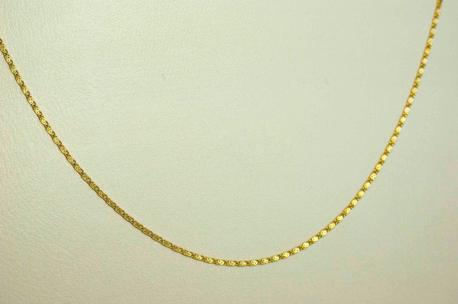 71 71 71 cm COLLANA catena oro 750 oro 18 KT per lei e lui nuovo design speciale c445b3