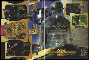 Alien Intelligence Print Ad/Poster Art PC Big Box (B)