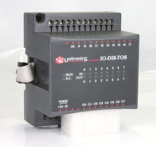Unitronics  I//O Expansion Module IO-D18-TO8