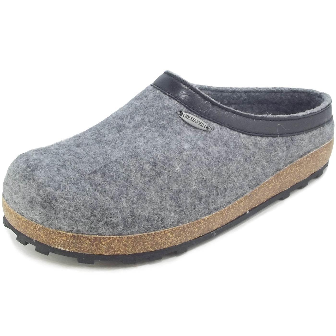 Giesswein Chiem Unisex Pantoffeln grau (schiefer)