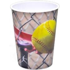 Girls Fastpitch Softball Fast Pitch Sports Birthday Party Favor Plastic Cup