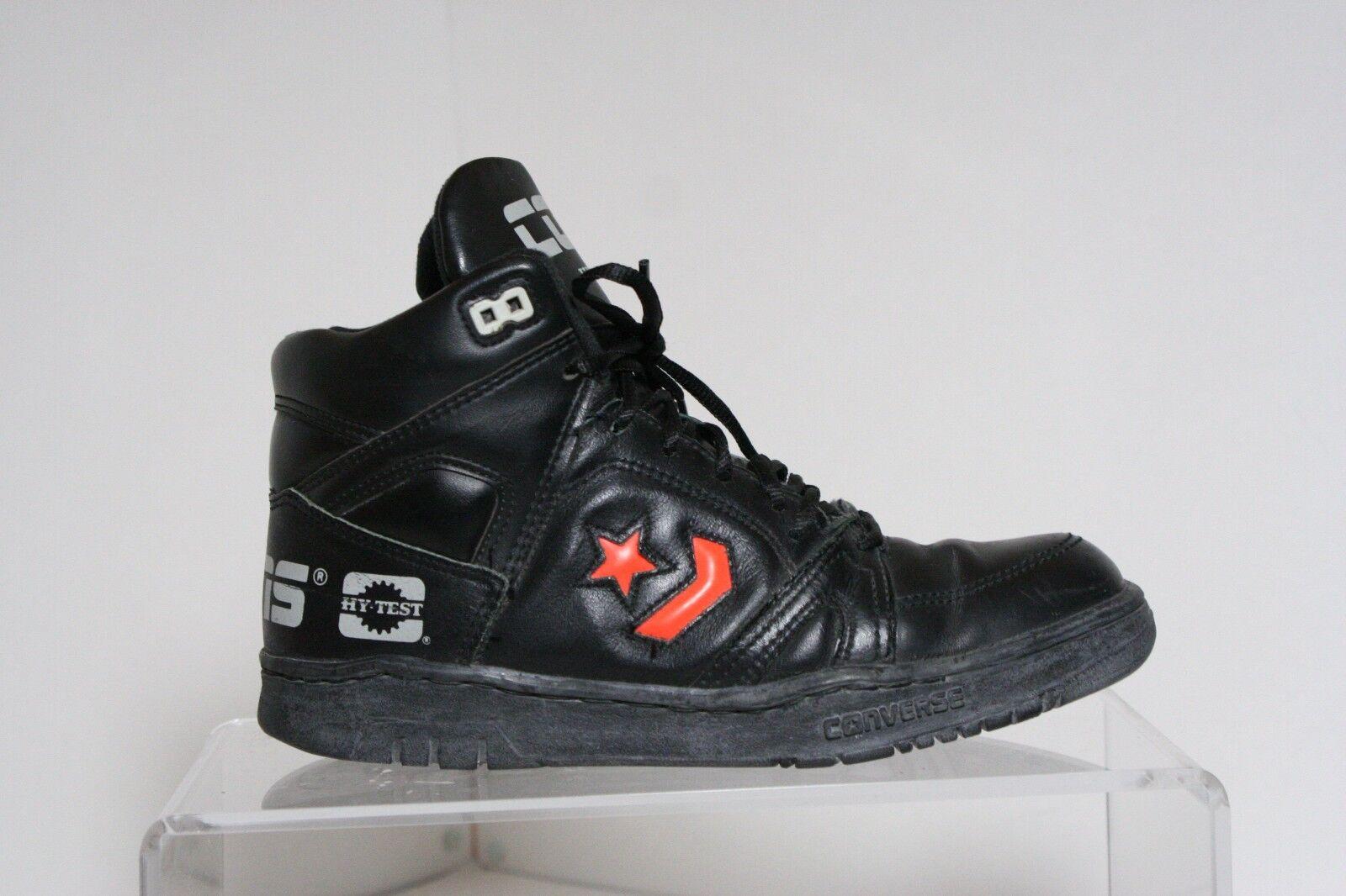 Converse Cons Vintage Hy-Test Steel Toe Sneakers Multi Hipster Men's 6 Orange