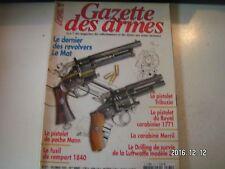 **a Gazette des armes n°371 Fusil de Rempart modèle 1840 / Carabine Merrill