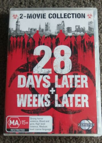1 of 1 - 28 Days Later / 28 Weeks Later (DVD, 2007, 2-Disc Set)