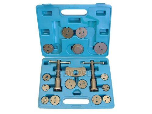 19pc Left and Right Hand Brake Caliper Rewind Wind Back Tool Piston Kit Set New