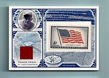 FRANKIE FRISH 2005 LEAF CENTURY USA FLAG STAMP GAME JERSEY AUTOGRAPH AUTO /100