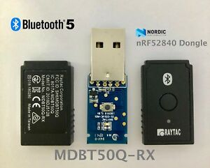 Nordic-nRF52840-USB-Dongle-BT5-1-BLE-Raytac-MDBT50Q-RX-Bluetooth-Long-Range