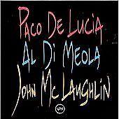 Paco De Lucia, Al Di Meola, John McLaughlin - The Guitar Trio CD Used Very Good