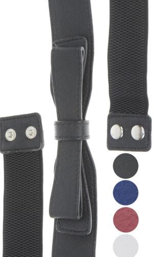 Vintage Belt STRETCH Bow SCHLEIFEN 50s Taillengürtel GÜRTEL Rockabilly