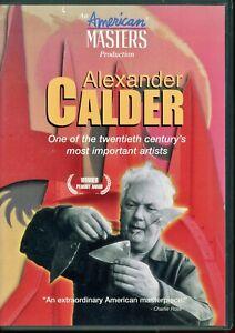 Alexander-Calder-American-Master-039-s-DVD-2004-Very-Rare-DVD