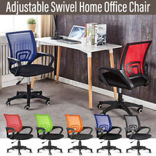 Chair Swivel Office Task Home Ergonomic Mesh Computer Desk Seat Lumbar Support