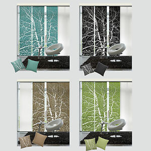 birke schiebevorhang fl chenvorhang schiebegardine. Black Bedroom Furniture Sets. Home Design Ideas