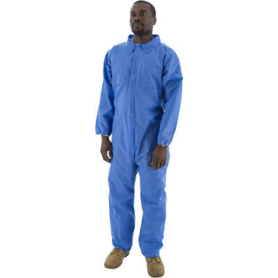 5 Pack KeyGuard Microporous Coverall with Hoodand Elastic Wrists Ankle