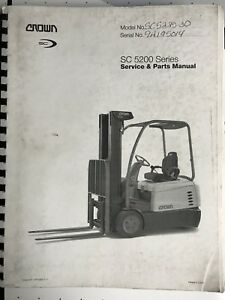 crown 5200 service manual ebay rh ebay com