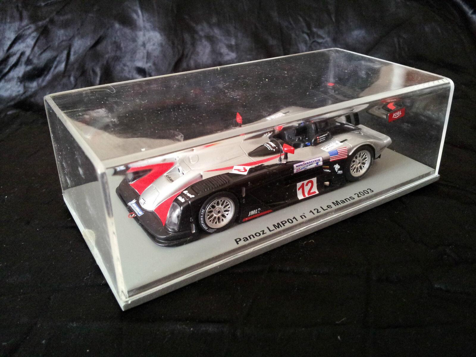 Spark Panoz LMP01   12 Le Mans 2003 1 43 Neuf en boite