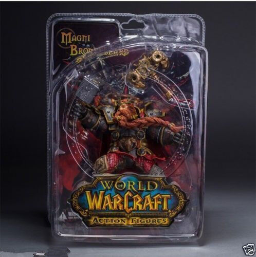 WORLD of WARCRAFT WOW SERIES 6 DWARVEN KING MAGNI BRONZEBEARD ACTION FIGURES TOY