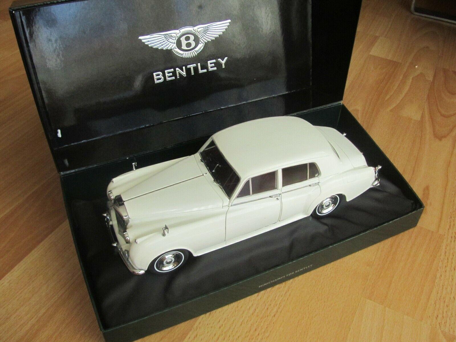 Bentley S2 1954 weiß weiss weis Weiß 1 18 Minichamps RAR 100139951