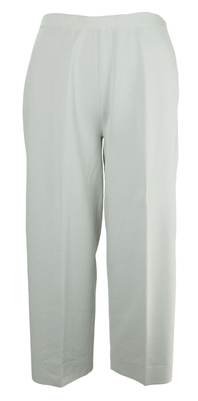 MARINA RINALDI Women's Grey Uno Wide Leg Pants  NWT