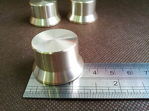 1pcs-26-32X20-Aluminum-Volume-Control-KNOB-CD-Amplifier-potentiometer-fit-ALAPS