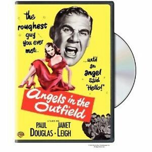 Angels-in-the-Outfield-UK-Region-2-Compatible-DVD-Paul-Douglas-Janet-Leigh