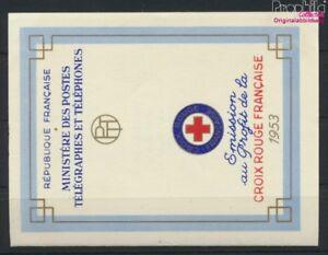 Frankreich-984-985MH-kompl-Ausg-Markenheftchen-postfrisch-1953-Rote-9119793