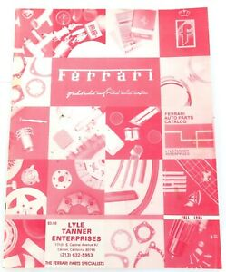 RARE-1986-USA-FERRARI-PARTS-CATALOG
