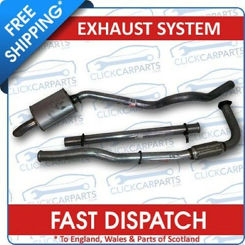 Land Rover Discovery 300Tdi Complete Sports Exhaust System With Flexible De-Cat