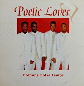 POETIC-LOVER-PRENONS-NOTRE-TEMPS-CD-SINGLE