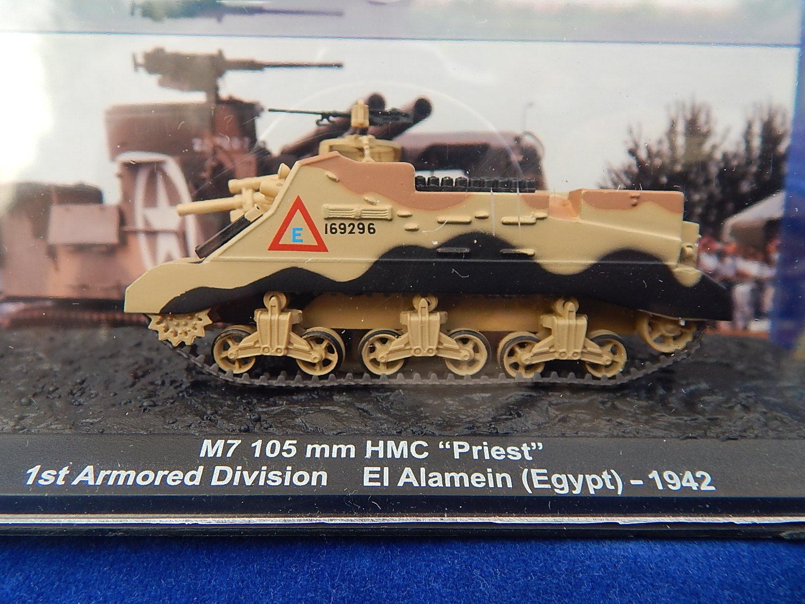 ALTAYA - MILITARIAT - WW2 WW2 WW2 - CHAR / Tank - M7 105 mm HMC PRIEST - 1942 - TOP ! 7ecb99