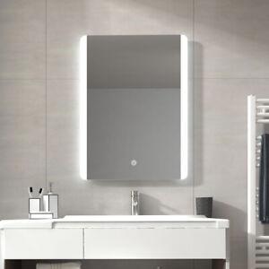 Details Zu 50x7060x80 Cm Lichtspiegel Badspiegel Led Badezimmerspiegel Mit Beleuchtung