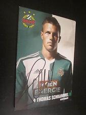 38683 Thomas Schrammel Rapid Wien original signierte Autogrammkarte