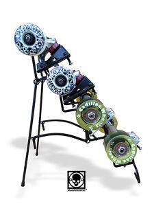 Skateboard Trucks Amp Wheels Stand Display Spitfire Bones Oj