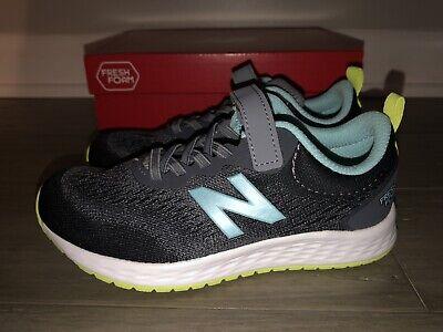NEW Balance YAARISC3 Youth Kids Shoes Sneakers Size 13 1 Medium Grey Blue | eBay
