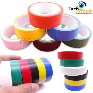 Confezione da 6 PVC Isolamento Elettrico Nastro Colori Assortiti Fuoco Ignifugo 3m  </span>