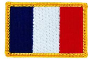 Patch-ecusson-brode-Drapeau-FRANCE-francais-Thermocollant-Insigne-Blason