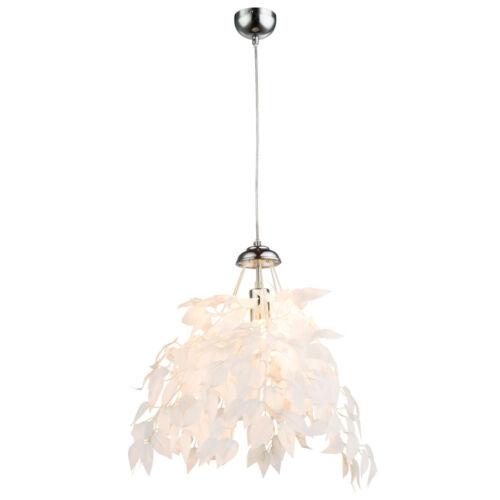 Pendel Decken Leuchten Blätter steckbar Hänge Lampen Gold Schwarz Weiß Silber