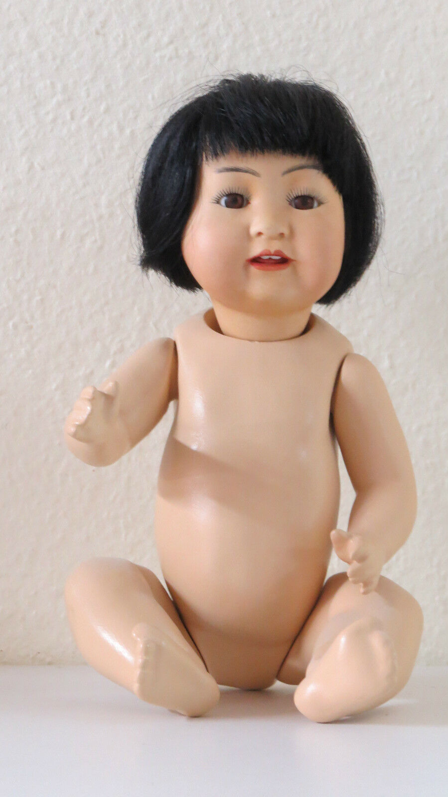 Asiatique  KESTNER 32 cm 12,8 Inch  Poupée Ancienne  Reproduction Antique doll
