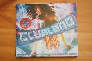 Clubland-14-3-Disc-Special-including-clubland-2-cd-and-Live-CD-Special-MINT-CDs