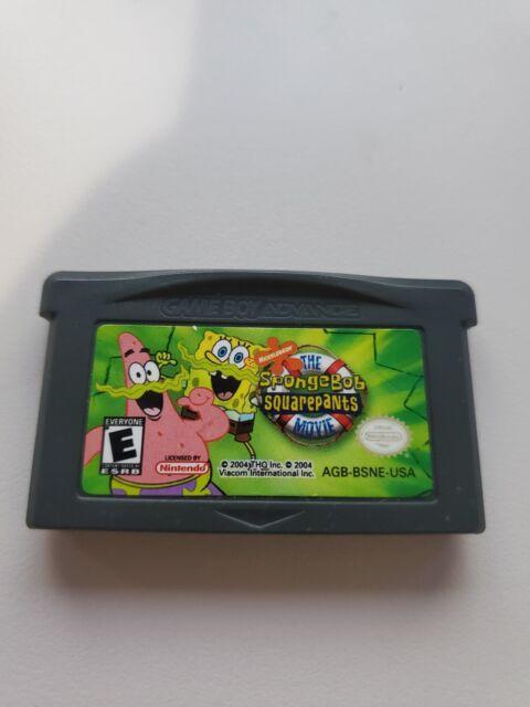 The SpongeBob SquarePants Movie (Nintendo Game Boy Advance, 2004) GBA Cart Only!